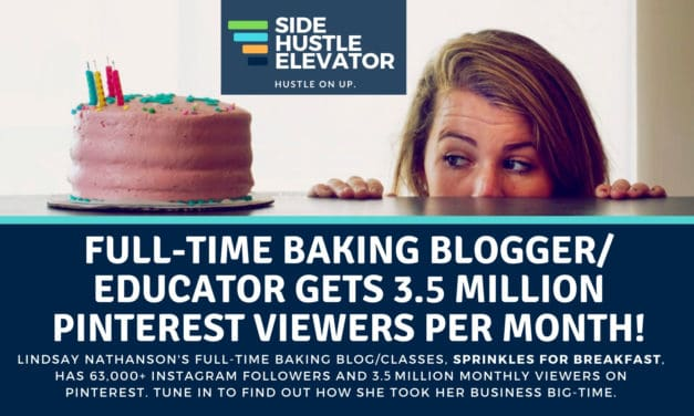 3.5 monthly viewers on Pinterest? Home Baking Blogger Hits It Big: Sprinkles For Breakfast's Lindsay Nathanson